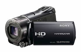 HandyCam Sony HDR CX550VE